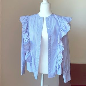 Zara button down shirt in size M